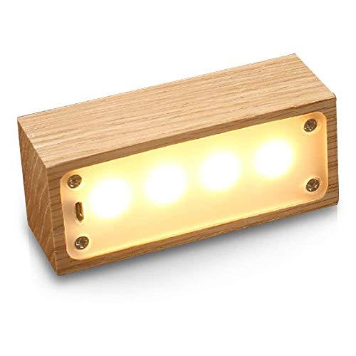 Lámpara Colgante TongN Lámpara De Mesilla De Noche con Luz LED, 3 Niveles De Brillo,...
