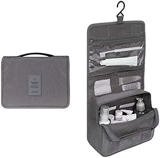 Rubik Hanging Toiletry Bag with Hanging Hook, Large Capacity Portable Multifunction Travel Makeup Bag Cosmetic Organizer B...