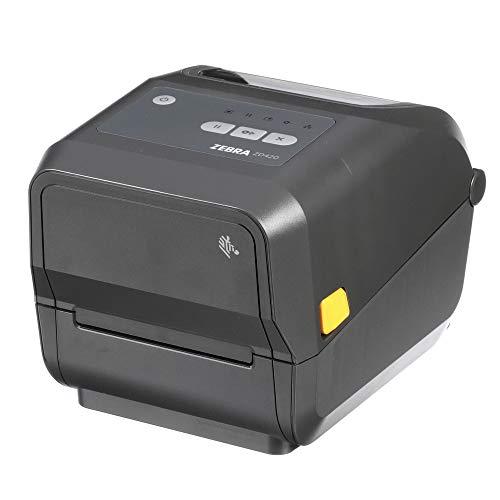Zebra ZD420t Thermal Transfer Desktop Printer 203 dpi Print Width 4 in USB ZD42042-T01000EZ
