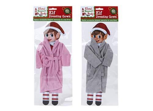 Elves Behavin' Badly - Elf Dressing Gown - Elf Dress Up - 1 Chosen At Random