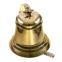 8 Nautical Brass Ship Bell - Maritime Dinner Bells