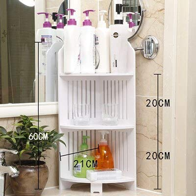 ADSIKOOJF moderne badkamer opslag plank multifunctionele opslag rekken douche hoek plank vloer staande toilet statief badkamer kast