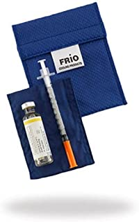 FRIO ® Mini: The ORIGINAL Insulin Cooling Travel Wallet for Diabetics (Mini, Blue)