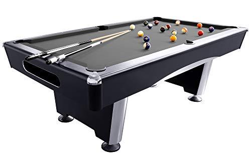 Dynamic Billardtisch Triumph, 7 ft. (Fuß), schwarz, Pool