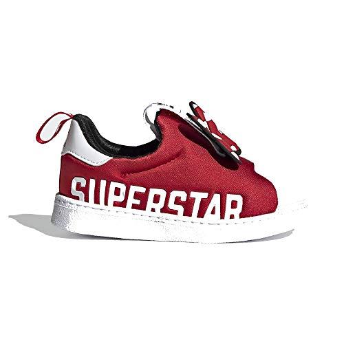 adidas Superstar 360 X I Cloud White/Scarlet/Core Black Blanco Size: 25 EU