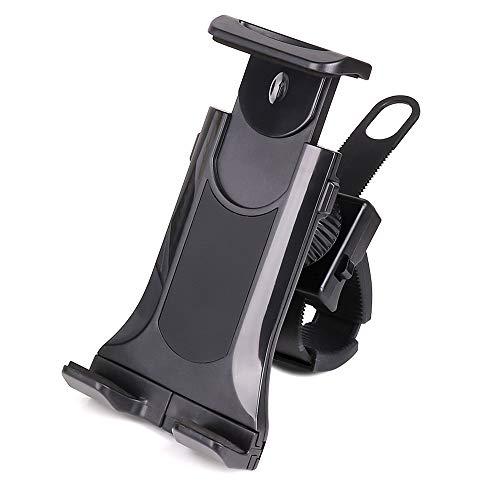 IWILCS Soporte de tablet para bicicleta, soporte para tableta, giratorio 360°, tablets de 4 a 10,5 pulgadas, para Spinning