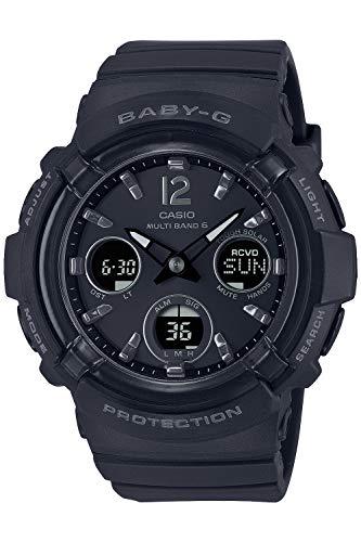 [カシオ] 腕時計 ベビージー 電波ソーラー BGA-2800-1AJF レディース ブラック