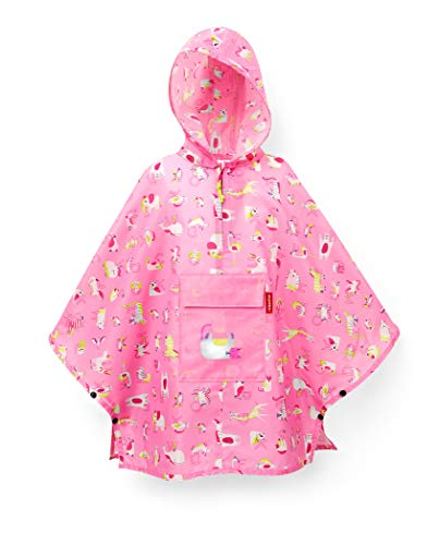 reisenthel mini maxi poncho M kids - abc friends pink Maße: 93 x 62 x 0 cm