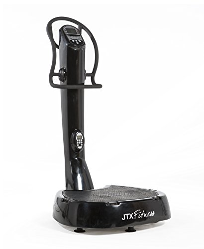 JTX Pro-10: Power Vibration Plate. 3 Yr In-Home Servicing. FREE Vibration Plate Accessories.