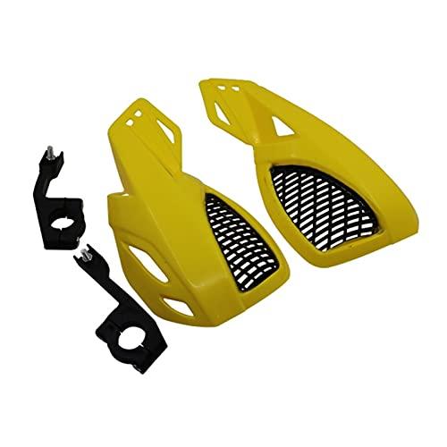 Protector de Guardia de Mano de la Mano de la Motocicleta para HON-DA 125 CRF2CRF 250 450R x XT 225 250R XR250 400 600 para Ya-ma-ha yz YZF 250 Motocicleta a Prueba de Viento (Color : Oro)
