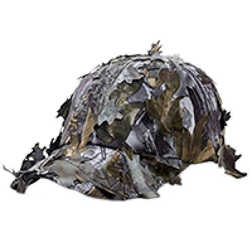 Herren Kappe Hut Jungle Camouflage Männer Frauen Sonnenschirm Sonnenhut Outdoor Spielen Baseball Sommer Bergsteigen Kappe 3D Bionic Leaf Hut Verstellbar-Grau