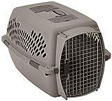 Petmate DO21086 Aspen Pet Pet Porter - Transportadora para mascotas, Gris Oscuro (Light Gray), 20-25 lbs