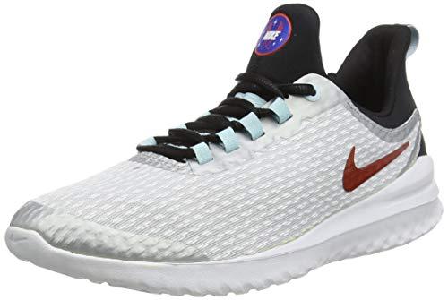Nike Unisex-Kinder Renew Rival Sd (Gs) Cross-Trainer, Weiß (Pure Platinum/Team Orange-Blac 001), 23 EU