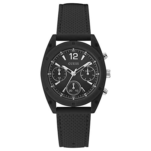 Guess Women's Dart U1296L2 Black Silicone Quartz Fashion Watch