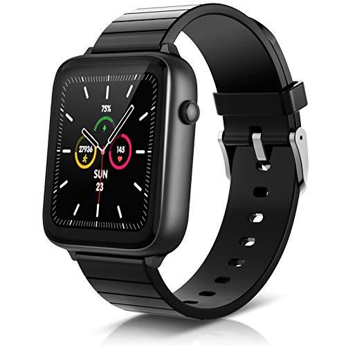 Smartwatch Elegiant C420, BT 5.0, sensor de frecuencia cardíaca 24h, 23 modos deportivos, deportivos, 128MB, IP68