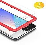 BANNIO Pellicola Protettiva per iPhone 8 Plus/7 Plus/6 Plus/6S Plus,3 Pacco Pellicola Vetro Temperato con...