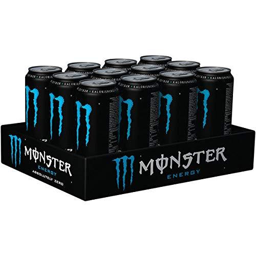 Monster Energy Drink 'Absolutely Zero' 12 x 0,5l Dose (Zuckerfrei)