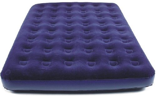 großes Gästebett für 2 Personen geeignet, ca. 200x154x22cm, royal blau (Gästematratze)