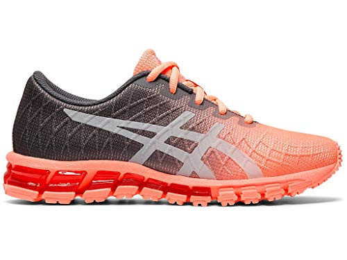 ASICS Women's Gel-Quantum 180 4 Shoes, 10M, Sun Coral/Carrier Grey