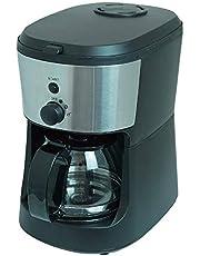 HIRO 全自動コーヒーメーカー コーヒー豆・粉両対応 大容量 5カップ分 CM-503Z