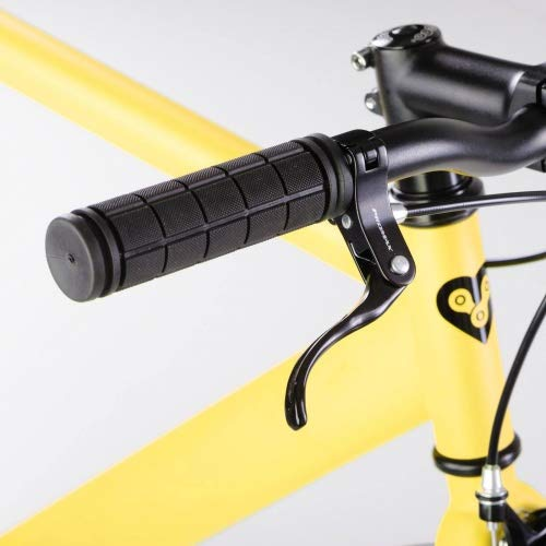 bonvelo Singlespeed Fixie Fahrrad Blizz Mellow Yellow (Large / 56cm für Körpergrößen von 170cm bis 181cm) - 3