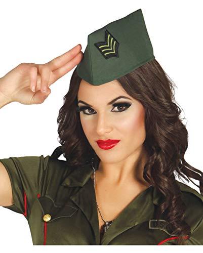 Officier bonnet vert