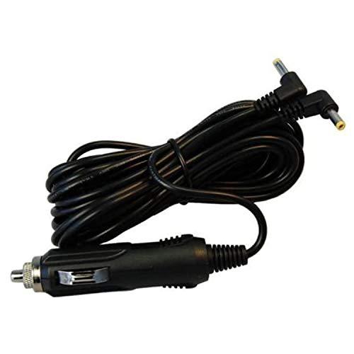 HQRP Cargador de coche 12V para Philips AY4128, AY4133, LY02, LY-02, AY4197, 996510006564, 996510010458, 996510021372, PD9018, PD9016, PD9012 reproductor de DVD portátil