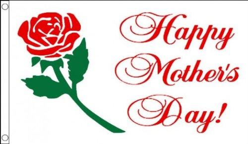 AZ FLAG Bandiera BUONA Festa della Mamma 90x60cm - Bandiera Happy Mother's Day - Auguri 60 x 90 cm
