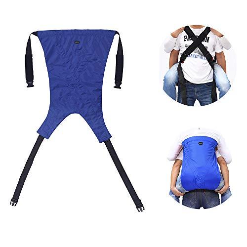 患者リフトスリング階段スライドボード搬送ベルト緊急避難椅子階段を上下させる障害医療用品車椅子、椅子、ベッドに移動する医療機器 (Red)