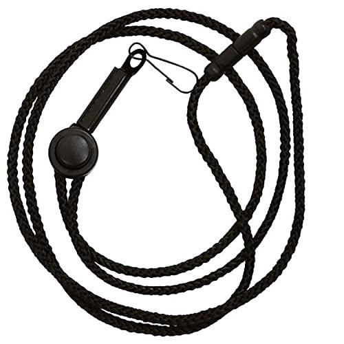 Fox 40 Breakaway-Pfeifenschnur schwarz