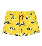 Happy Socks Tiger Swim Short Costume a Pantaloncino, Giallo, M Uomo