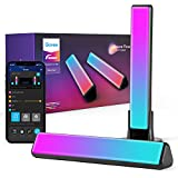 Govee Smart Light Bars, RGBIC Smart LED Lights with 12 Scene Modes and Music Modes, Bluetooth Color Light Bar for Entertainment, PC, TV, Room Decoration