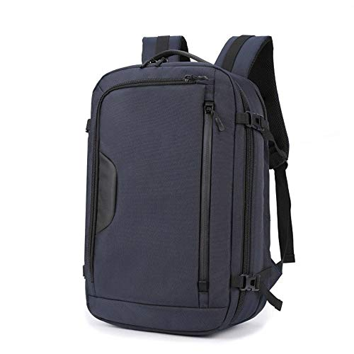 TYXL Backpack Mochila Casual for Hombres De Tela Oxford Mochila for Exteriores Impermeable Y Resistente Al Desgaste Impermeable, Transpirable, Resistente Al Desgaste (Color : Blue)