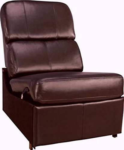 Bello HTS103BN No-Arm Reclining Chair (Brown)