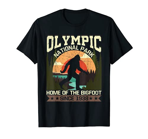 Olympic National Park - Home of the Bigfoot Since 1938 T-Shirt