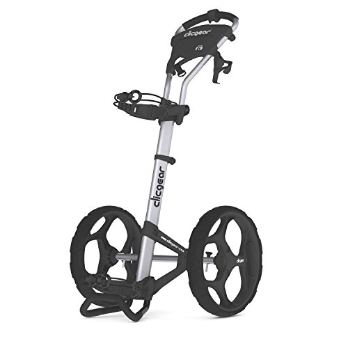 Clicgear 6.0 2-Wheel Golf Trolley, Silver,