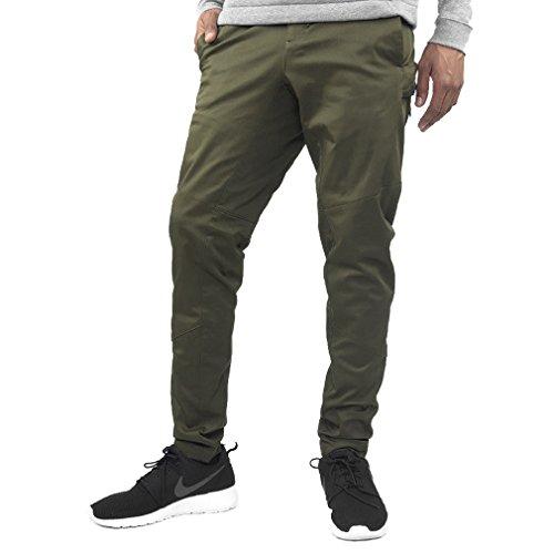 Nike Bonded Woven Pants Mens Athletic-Pants 805110-347_38 - Green