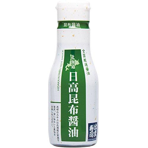 はま寿司 北海道日高昆布醤油 1本 [200ml] 密封ボトル 常温商品