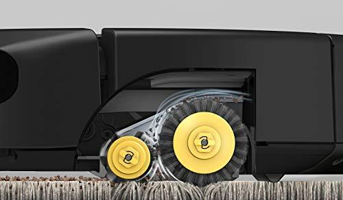 iRobot Roomba 605 Robot Aspirapolvere, Sistema di Pulizia ad Alte Prestazioni, Adatto a Pavimenti e Tappeti, Ottimo per i Peli degli Animali Domestici, Bianco