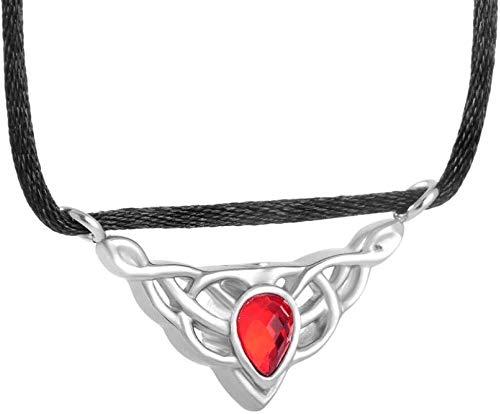 Collar de Moda para Mujer Cremación Collar de Gotas de Vidrio Recuerdo Cenizas Objetos de Recuerdo de Collar Colgante Cadena 316L Cuba de Acero Inoxidable y Correa de sujeción Nombre de Color púrpura