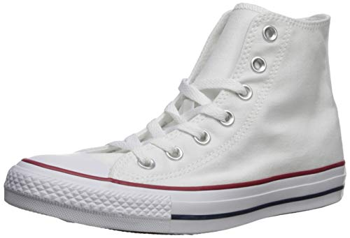 Converse Chuck Taylor All Star Hi-Top Erwachsenen-Sneaker, unisex, Weiß - optical white - Größe: 2 UK Men/ 4 UK Women