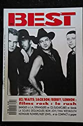 BEST 245 DECEMBRE 1988 COVER U2 WAITS JACKSON BERRY LENNON Bangles Sugarcubes BON jovi WEYMOUTH