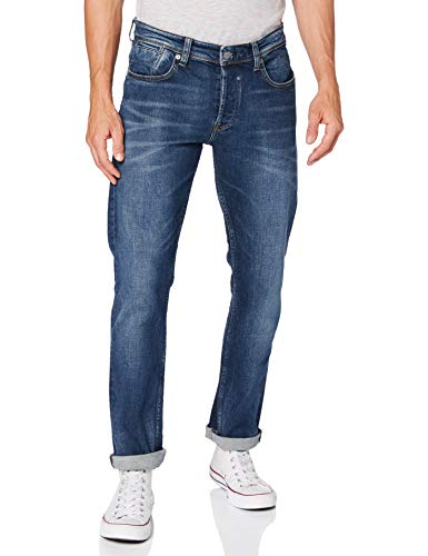 Teddy Smith 10114799DL32 Jeans, Old/Encre, 28 Homme