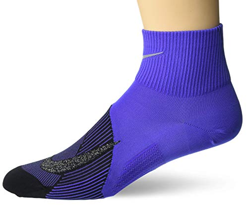 NIKE U Nk Spark LTWT Ankle Calcetines, Unisex Adulto, Rush Violet/Black, 4-5.5