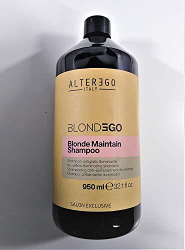 Alterego Blonde Maintain Champú Antiamarillo para Cabello Rubio 950ml