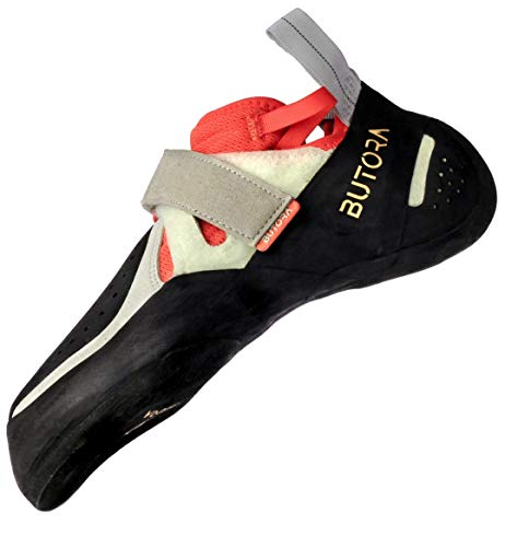 BUTORA Unisex Acro Wide Fit Climbing Shoe, Orange, 5.5 Men/6.5 Women