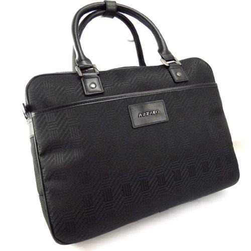 Azzaro [K6255] - Sac Business, Porte-Ordinateur 'Azzaro' Noir (Special Ordinateur 15')