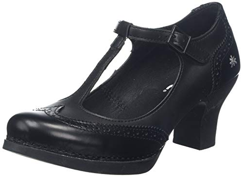 art Damen 1067 City-Leader Harlem Pumps, Schwarz (Black Black), 41 EU