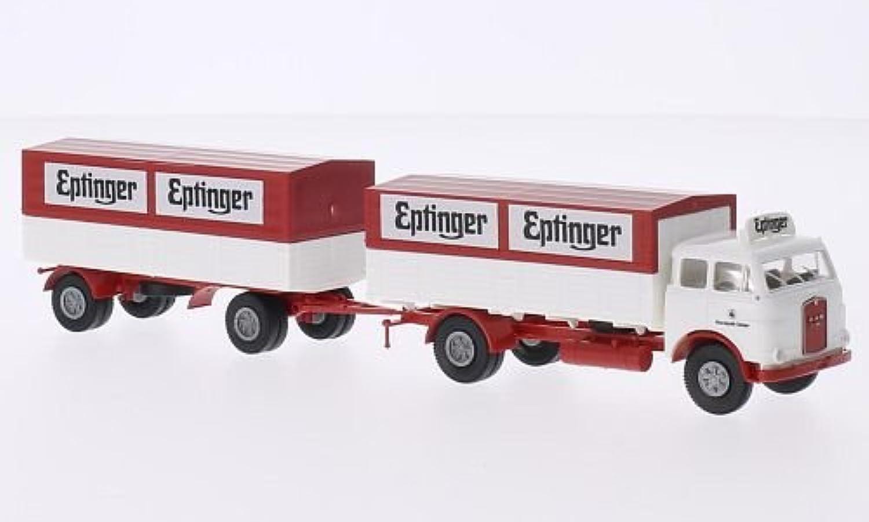 MAN 10.212 F, Eptinger (CH), Model Car, Readymade, Brekina 1 87