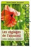 Les Réglages De L'appareil - Vitesse, Diaphragme, Exposition